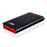 柯玛仕 聚合物移动电源 手机充电宝10000毫安 聚合物826墨玉黑1万毫安