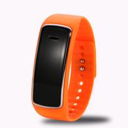 喜木 手环智能 穿戴运动计步器 睡眠监测远程拍摄手表 IOS/安卓系统监控防盗蓝牙腕带 橙色
