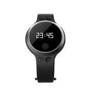 喜木 手环 智能手表 运动手环 安卓/苹果计步器 心率检测健康手环穿戴腕表 银色