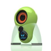 本手 X5 2.0外星人多媒体迷你单体小音箱 带logo七彩呼吸灯 绿色