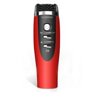 喜木 话筒 电脑麦克风  K歌专用电容麦 手机唱吧麦克风 家庭KTV扩音录音设备 红色