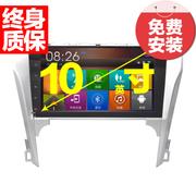 杰航(Jiehang) 新款丰田凯美瑞七代 凯美瑞10寸安卓大屏无碟机 嵌入式导航+行车记录仪送8G卡