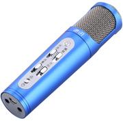 途讯 麦克风电脑K歌专用手机唱吧话筒电容麦克风 蓝色 调音大师