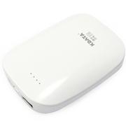 数码王 暖手宝6600毫安移动电源USB充电个性创意迷你电热宝充电宝 白色 官方标配