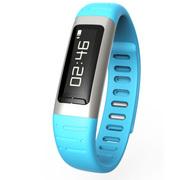 喜木 智能手环 健康手环运动计步器 蓝牙连接智能穿戴 蓝色
