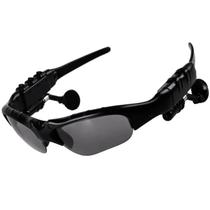 优胜仕 USAMS智能蓝牙眼镜头戴式影院耳机偏光太阳镜近视 黑色-单镜片产品图片主图