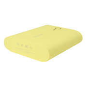 VTag 素乐 甜点迷你通用型手机充电宝 双口USB移动电源 浅黄色