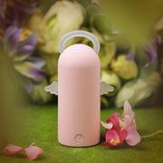 索罗卡 小天使移动电源7800mAh 聚合物大容量迷你充电宝 小米/苹果/安卓手机均适用 粉色