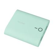 VTag 素乐 甜点迷你通用型手机充电宝 双口USB移动电源 tiffany绿