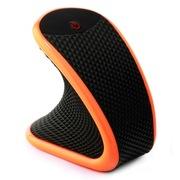 BigToys OD360a 迷你随身震动按摩器 六挡调节 硅胶材质 橙黑色