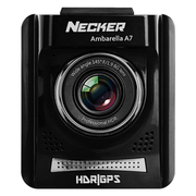 Necker 耀星S3行车记录仪 安霸芯片 高清夜视电子狗轨迹记录三合一一体机 标配+16G卡