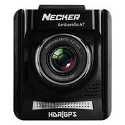Necker 台湾 安霸A7方案行车记录仪真高清1080P广角夜视固定测速抬头显示一体机 标配安霸A7LA30芯片+OV4689晶片无卡