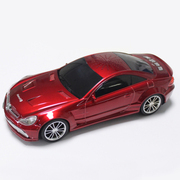 达客 汽车模型音响 低音炮立体声无线蓝牙音箱儿童玩具 红色
