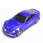 达客 汽车模型音响 低音炮立体声无线蓝牙音箱儿童玩具 蓝色