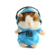 Turbospoke 会学说话的录音DJ鼠 圣诞礼物 蓝衣