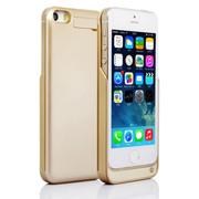 RUIBO iphone5s背夹电池苹果 5移动电源5S土豪金便携式无线充电宝 土豪金2200mAh