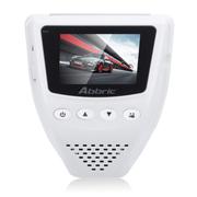 Abbric 行车记录仪OBDⅡ24小时停车监控 1080P高清广角夜视白色A001 标配+8G卡
