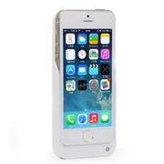 RUIBO iphone5s背夹电池苹果 5移动电源5S土豪金便携式无线充电宝 陶瓷白2200mAh