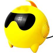 美创 太空人音响电脑usb小音箱低音炮多功能电脑音箱 黄色