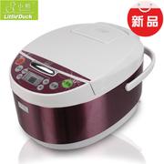 小鸭 XY40-70F智能方煲 家用电饭煲大容量触屏预约电饭锅 彩虹紫