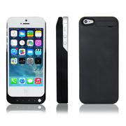 RUIBO 苹果iPhone5背夹电池 5S移动电源 便携充电宝 手机壳 磨砂黑