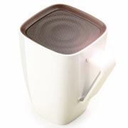 美创 苹果iphone5S/6蓝牙水杯音响创意咖啡杯小音箱 白色