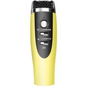 美创 卡拉ok随身话筒唱吧麦克风电容麦话筒 适用于苹果三星手机电脑 黄色