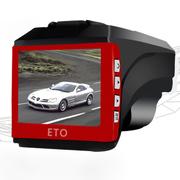 易图 M117 行车记录仪云电子狗GPS安全预警仪汽车防盗蓝牙一体机 标配+8G卡
