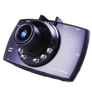 JVJ 六灯侠行车记录仪高清广角夜视 防抖 、内置麦克风喇叭录音一体机  1200W像素