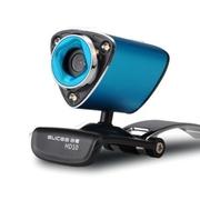 谷客 【高清带夜灯】高清摄像头带麦克风 台式电脑usb免驱视频 HD10 蓝色