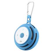 apphome 无线蓝牙插卡音箱重低音音响  适用于苹果小米三星华为荣耀6魅族安卓通用 蓝色