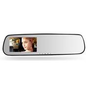 索浪 后视镜行车记录仪 D3009H 高清广角夜视像素1080P 标配