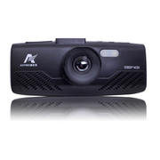 澳优美 车载行车记录仪1080p超高清像素迷你170超广角夜视停车监控 旗舰版红色+16G卡