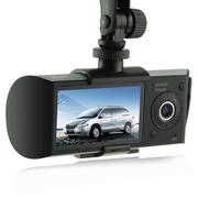 威玎 A6行车记录仪双镜头 高清1080P 夜视广角 一年换新机 双镜头旗舰版+8G