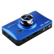 途美 GT9 行车记录仪 1200万像素 全屏触摸 停车监控一体机 宝石蓝标配+32G