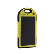 云度 趣玩 运动防水太阳能移动电源 送男友 黄色
