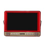 先科 【可货到付款】看戏机9寸视频播放器 高清多格式视频播放  老人看戏曲 跳广场舞专用 红色 标配
