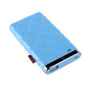 灵骁 迷你苹果6充电宝5s/4s 三星小米苹果移动电源 安卓手机通用 聚合物电芯 浅蓝色 5000毫安