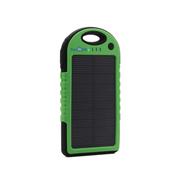 云度 趣玩 运动防水太阳能移动电源 送男友 绿色