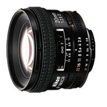 尼康 AF 20mm f2.8D 全幅广角 定焦镜头产品图片主图