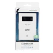品胜 LCD电库(2.4A) 双USB移动电源/充电宝 10000毫安(mAh) 苹果白