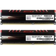 宇帷 CORE系列 火焰红 DDR3 1600 8GB(4G×2条)台式机内存(AVD3U16000904G-2CIR)