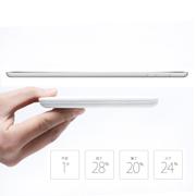 维尔晶 智能移动电源 超大容量聚合物充电宝手机通用可充平板 聚合物电芯 白色 5000毫安