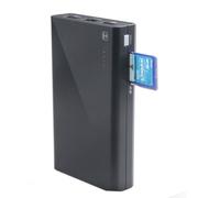 乐携 无线路由器 手机移动电源 无线存储共享8800MA充电宝wifi