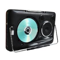 先科 【可货到付款】13寸带DVD看戏机 高清视频播放 支持移动DVD影碟收音机 红色带DVD 标配产品图片主图