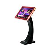 雅桥 家庭KTV点歌机系统 家用卡拉OK点唱机 2000G硬盘高清一体机 红色无线款台式