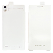 CRDC 华为P6 背夹电池便携充电宝 外置移动电源手机充电器 外置手机移动充电宝 CRAP6-1 白色