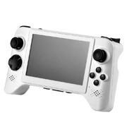 小霸王 智能掌上游戏机倚天舰210 5寸高清屏双四核处理器带手柄摇杆型大型平板PSP游戏机 白色8G版本+32G卡