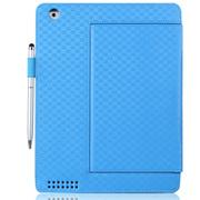 文逸(wenyi) WY 苹果iPad2/3/4保护套 newipad皮套 智能唤醒休眠功能 棕色 荔枝纹