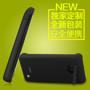 CRDC 背夹电池HTC one 国行版背夹保护套无线移动电源大容量无线充电宝移动背夹电池 CRAONE-2 黑色
